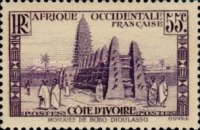 [The Ivory Coast - Mosque of Bobo-Dioulasso, Typ R8]