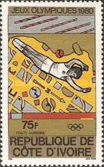 [Airmail - Olympic Games - Moscow, USSR, type RF]