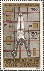 [Airmail - Olympic Games - Moscow, USSR, type RG]