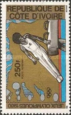 [Airmail - Olympic Games - Moscow, USSR, type RH]