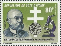 [The 100th Anniversary of Discovery of Tubercle Bacillus, Typ TU1]