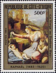 [Christmas - Paintings by Raphael, Typ WL]