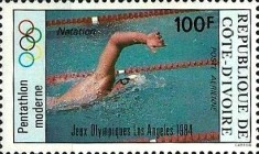 [Airmail - Olympic Games - Los Angeles, USA, Typ WU]