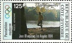 [Airmail - Olympic Games - Los Angeles, USA, Typ WV]