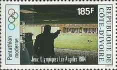 [Airmail - Olympic Games - Los Angeles, USA, Typ WW]
