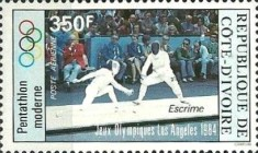 [Airmail - Olympic Games - Los Angeles, USA, Typ WX]
