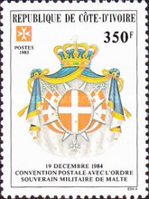 [Postal Convention with Sovereign Military Order of Malta, Typ YU]