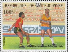 [Football World Cup - Mexico 1986, Typ YV]