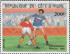 [Football World Cup - Mexico 1986, Typ YX]