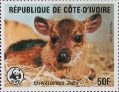 [World Wildlife Fund - Banded Duiker, Typ ZJ]