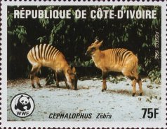 [World Wildlife Fund - Banded Duiker, Typ ZL]