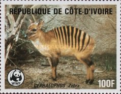 [World Wildlife Fund - Banded Duiker, Typ ZM]