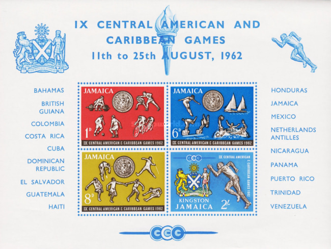 [The 9th Central American & Caribbean Games, type ]