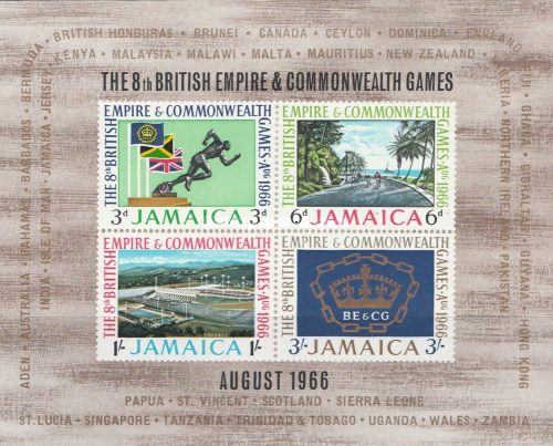 [The 8th British Empire Commonwealth Games, type ]