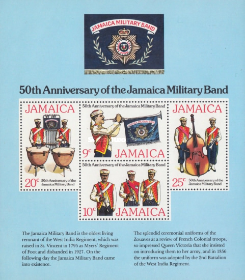 [The 50th Anniversary of Jamaica Military Band, type ]