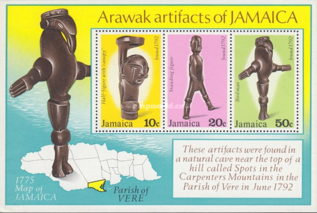 [Arawak Artifacts, type ]