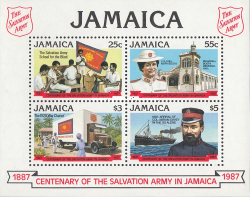 [The 100th Anniversary of the Salvation Army in Jamaica, type ]