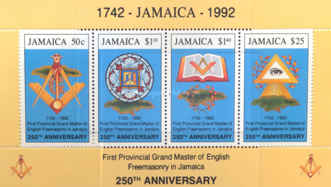 [First Provincial Grand Master of English Freemasonry in Jamaica, type ]