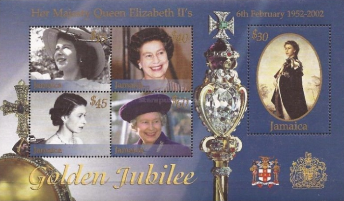 [The 50th Anniversary of the Raign of Queen Elizabeth II - Without Gold Frame, type ]