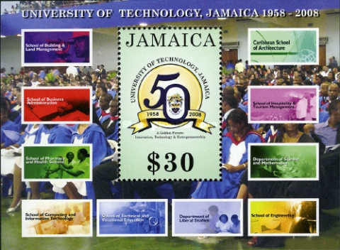[The 50th Anniversary of the University of Technology, type ]