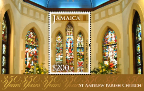 [The 350th Anniversary of the St. Andrew Parish Church, type ]