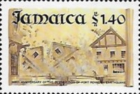 [The 300th Anniversary of the Destruction of Port Royal by Earthquake, type ABV]