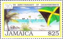 [The 30th Anniversary of Independence, type ACA]