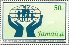 [The 50th Anniversary of Credit Movement in Jamaica, type ACB]