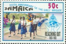 [The 100th Anniversary of the Girls' Brigade, type ACH]