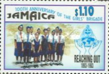 [The 100th Anniversary of the Girls' Brigade, type ACI]