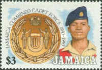 [The 50th Anniversary of Jamaica Combined Cadet Force, type ACM]