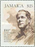 [The 100th Anniversary of the Birth of Norman Washington Manley, type ACU]