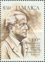 [The 100th Anniversary of the Birth of Norman Washington Manley, type ACV]