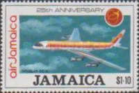 [The 125th Anniversary of Air Jamaica, type ADC]