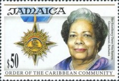 [Order of the Caribbean Community, type AEU]