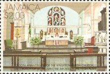 [The 300th Anniversary of Kingston Parish Church of St. Thomas, type AFH]