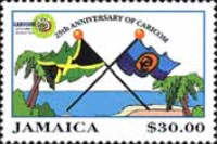 [The 11th Anniversary of CARICOM, type AGA]