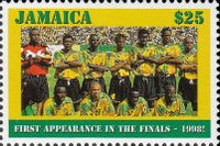 [World Cup - France - Jamaica's First Appearance, type AGC]