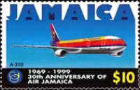 [The 30th Anniversary of Air Jamaica, type AGY]