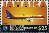 [The 30th Anniversary of Air Jamaica, type AGZ]