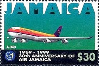 [The 30th Anniversary of Air Jamaica, type AHA]