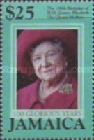 [The 100th Anniversary of the Birth of H.M. Queen Elizabeth The Queen Mother, type AIC]