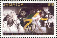 [The 40th Anniversary of Independence, type AJQ]