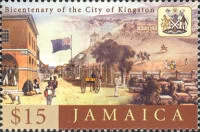 [The 200th Anniversary of the City of Kingston, type AJT]