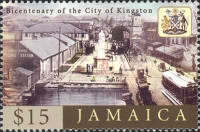 [The 200th Anniversary of the City of Kingston, type AJU]