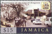 [The 200th Anniversary of the City of Kingston, type AJV]
