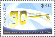 [The 30th Anniversary of CARICOM, type AJY]
