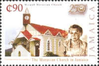 [The 250th Anniversary of the Founding of the Moravian Church in Jamaica, type AMC]