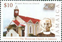 [The 250th Anniversary of the Founding of the Moravian Church in Jamaica, type AMD]