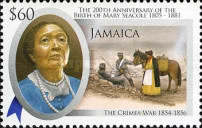 [The 200th Anniversary of the Birth of Mary Seacole, type ANK]